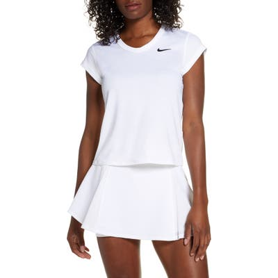 Nike Court Dri-Fit Top, White