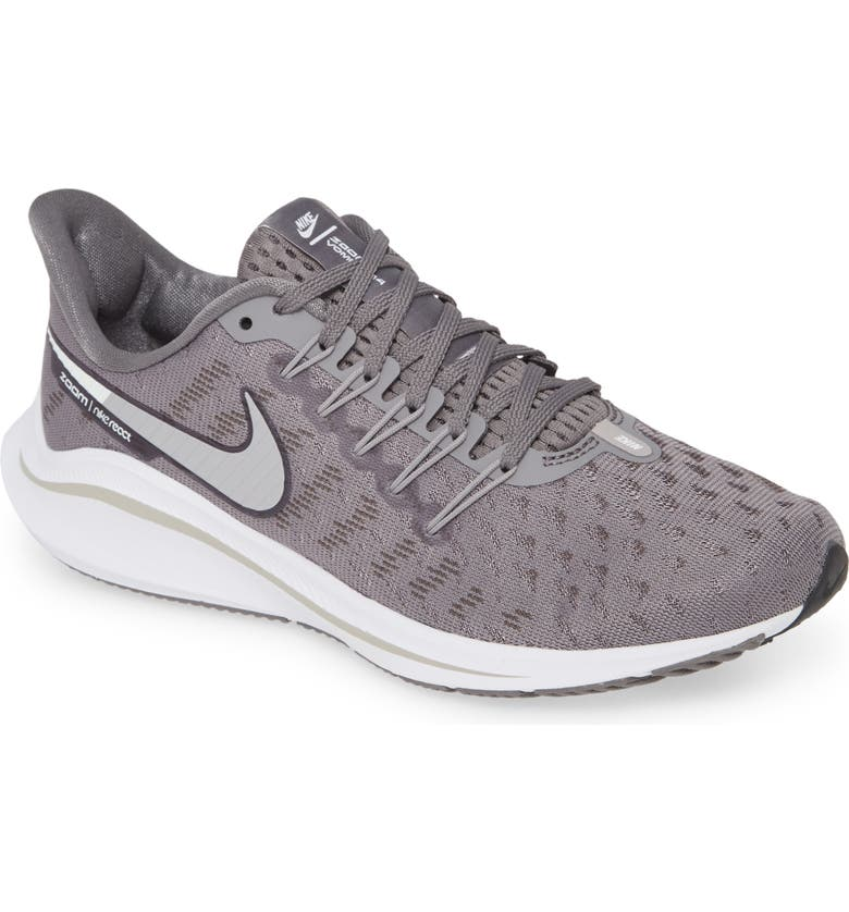 NIKE Air Zoom Vomero 14 Running Shoe, Main, color, GUNSMOKE/ ATMOSHPERE GREY