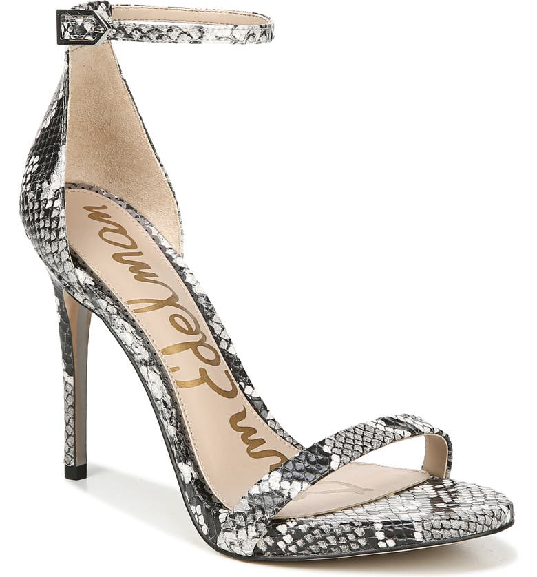 SAM EDELMAN Ariella Ankle Strap Sandal, Main, color, 005
