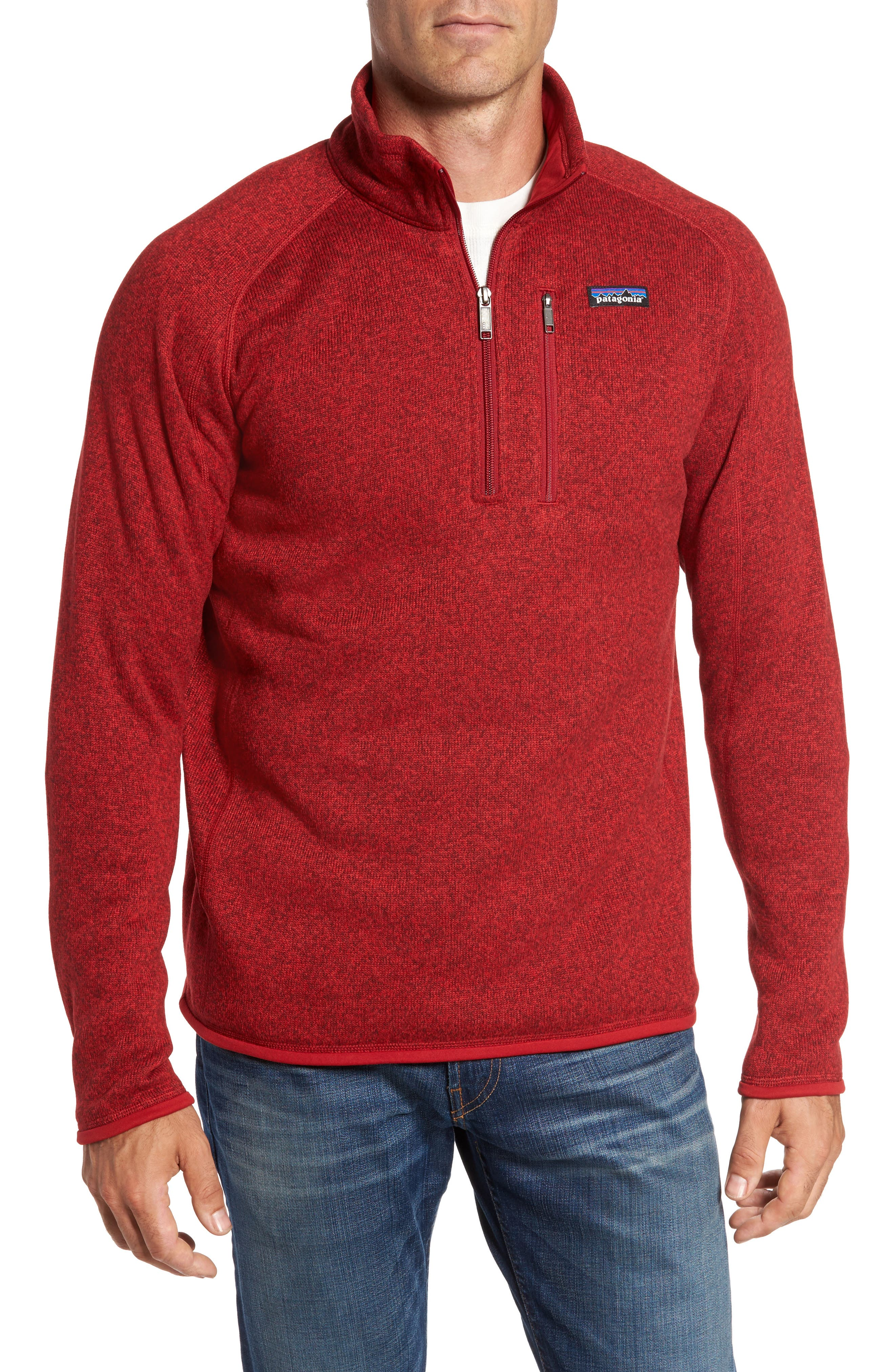 ,                             Better Sweater Quarter Zip Pullover,                             Main thumbnail 78, color,                             600
