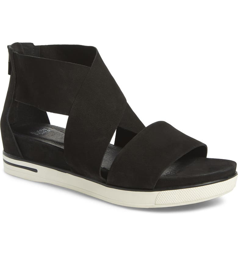 EILEEN FISHER Sport Platform Sandal, Main, color, 002