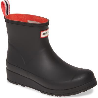 Hunter Original Play Waterproof Rain Bootie, Black