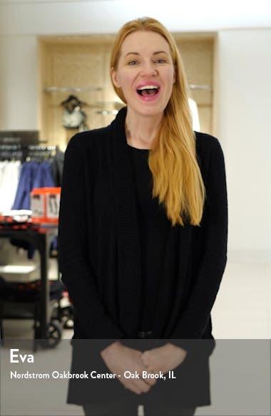 Floral Short Sleeve Crepe Georgette Midi Dress, sales video thumbnail