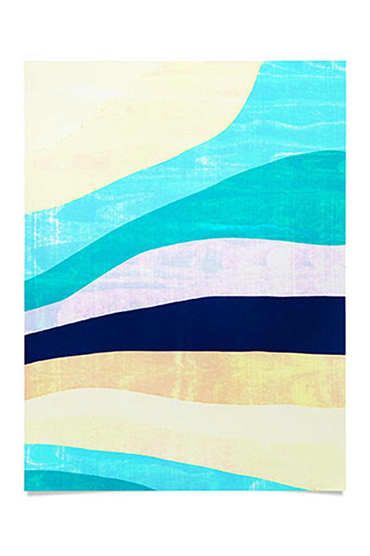Image of Deny Designs SunshineCanteen White Sands and Waves Poster