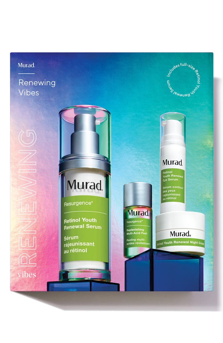 MURAD<SUP>®</SUP> Renewing Vibes Skin Care Set, Main, color, NO COLOR