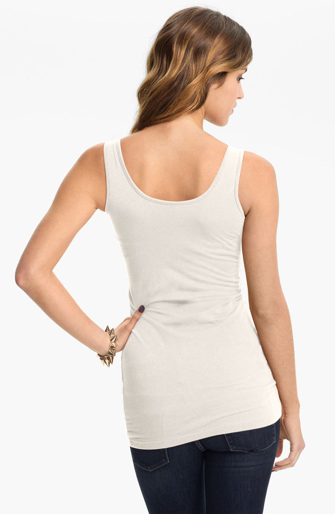 ,                             Double Scoop Neck Tank,                             Alternate thumbnail 64, color,                             032