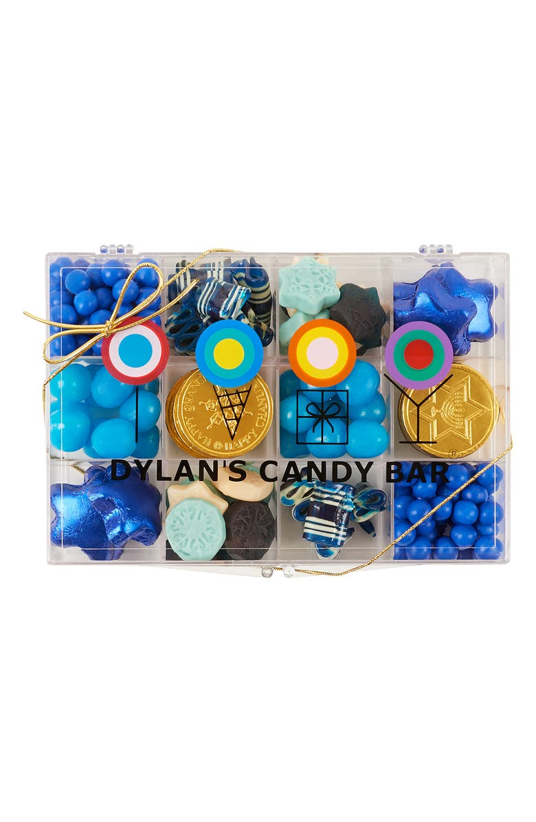 DYLAN'S CANDY BAR Hanukkah Candy Tackle Box, Main, color, BLUE