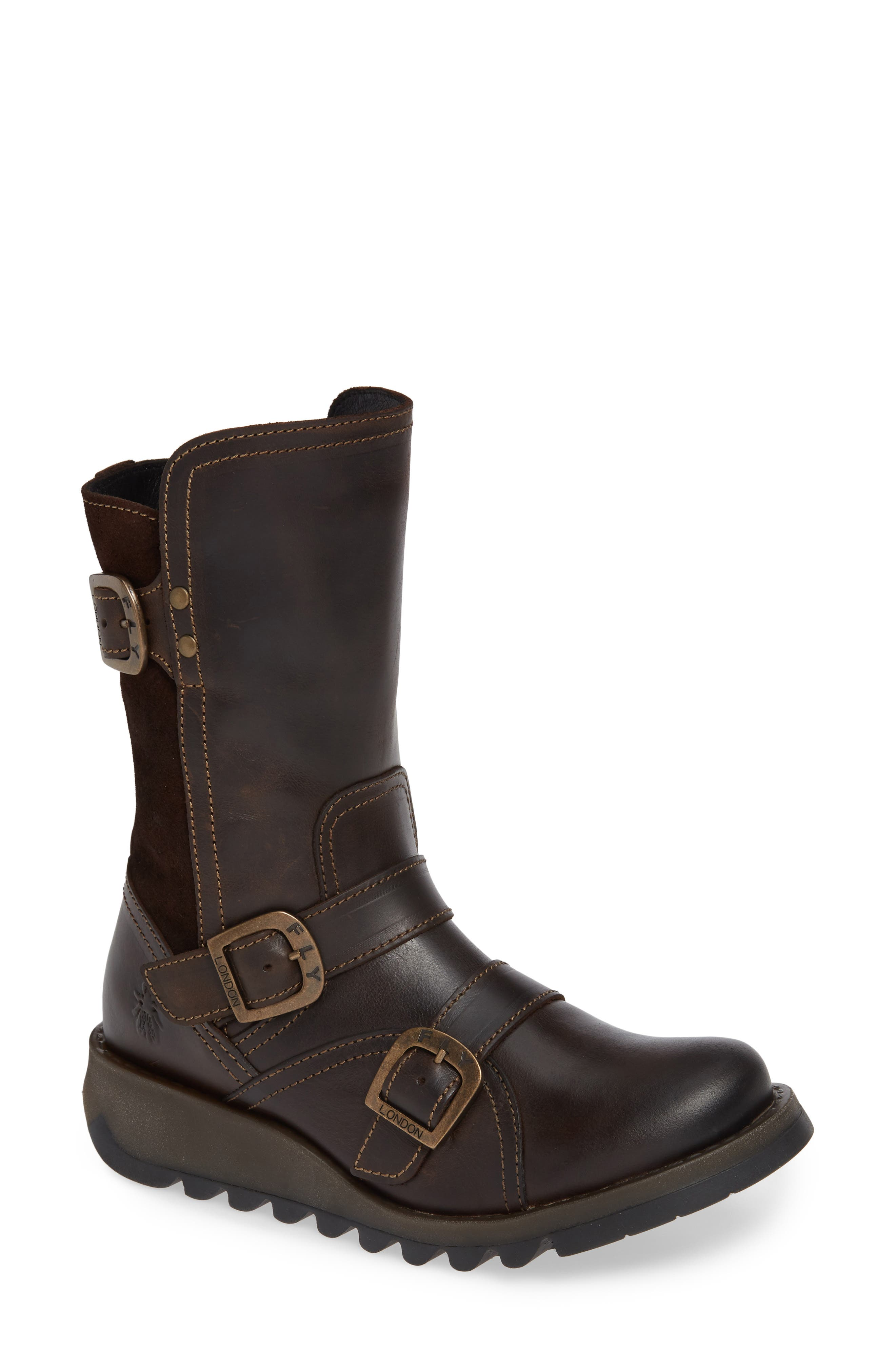 Fly London Selk Bootie - Brown