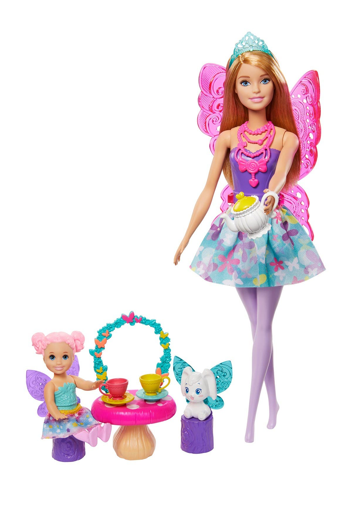 Image of Mattel Barbie(TM) Dreamtopia Tea Party Playset with Barbie(R) Fairy Doll