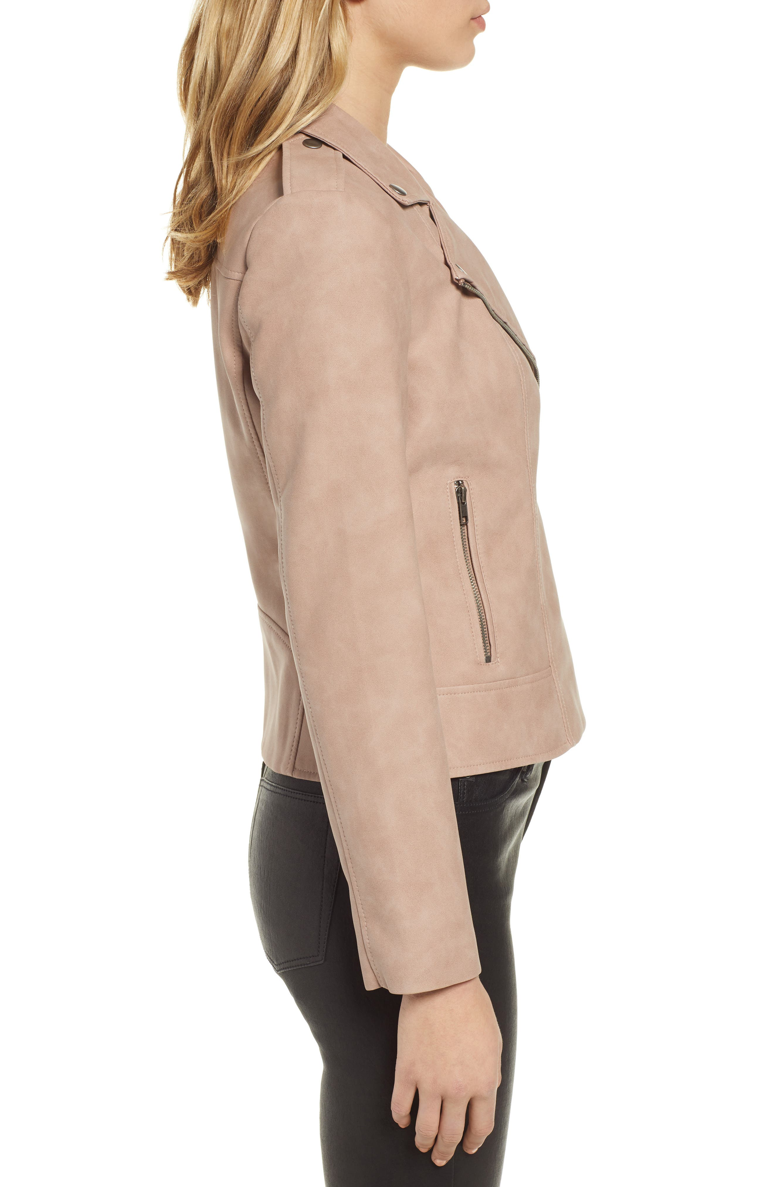 ,                             Easy Rider Faux Leather Moto Jacket,                             Alternate thumbnail 10, color,                             250