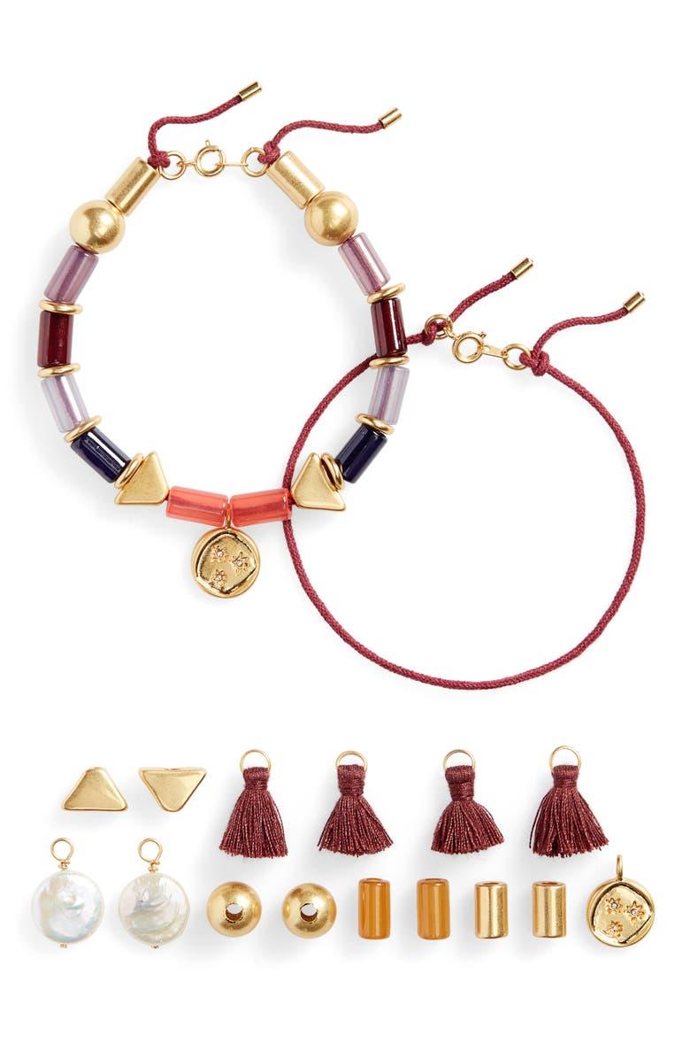 MADEWELL Do It Yourself Friendship Bracelet Kit, Main, color, RAINBOW MULTI