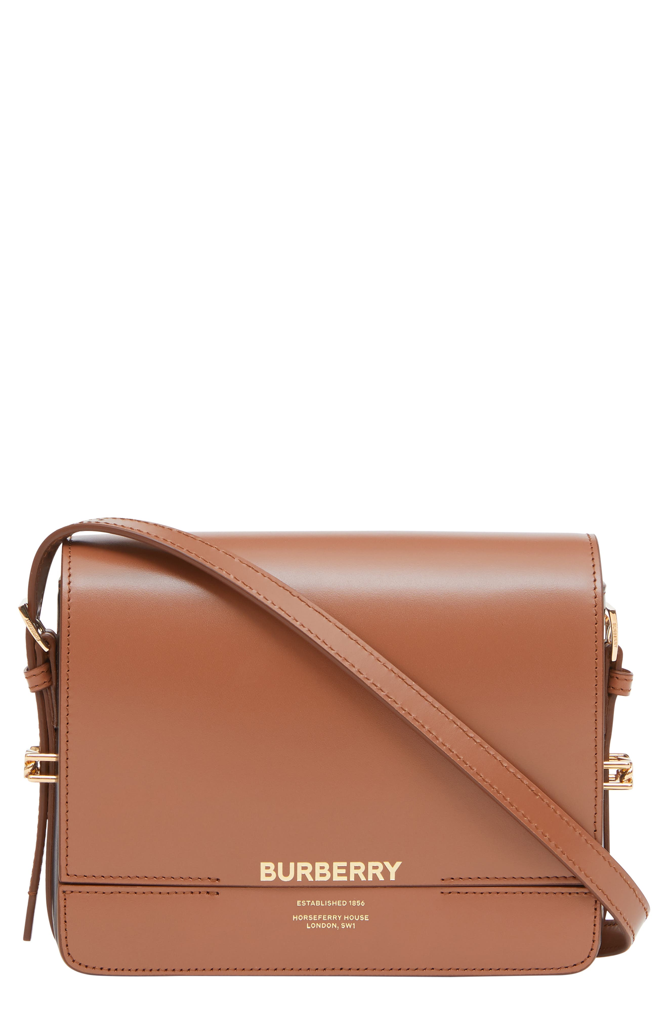 604010960c4 Burberry Small Grace Colorblock Leather Bag - Brown