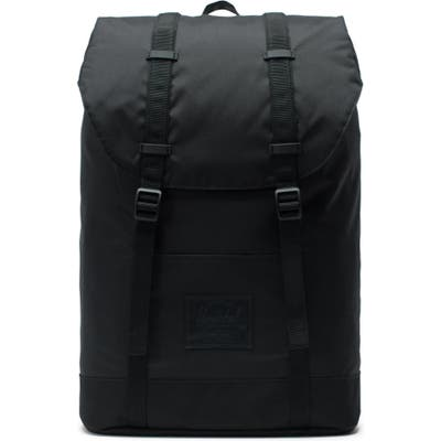Herschel Supply Co. Retreat Light Black Backpack - Black