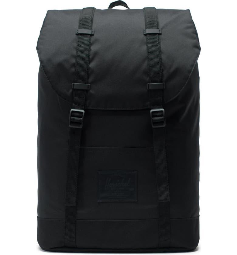 HERSCHEL SUPPLY CO. Retreat Light Black Backpack, Main, color, 001