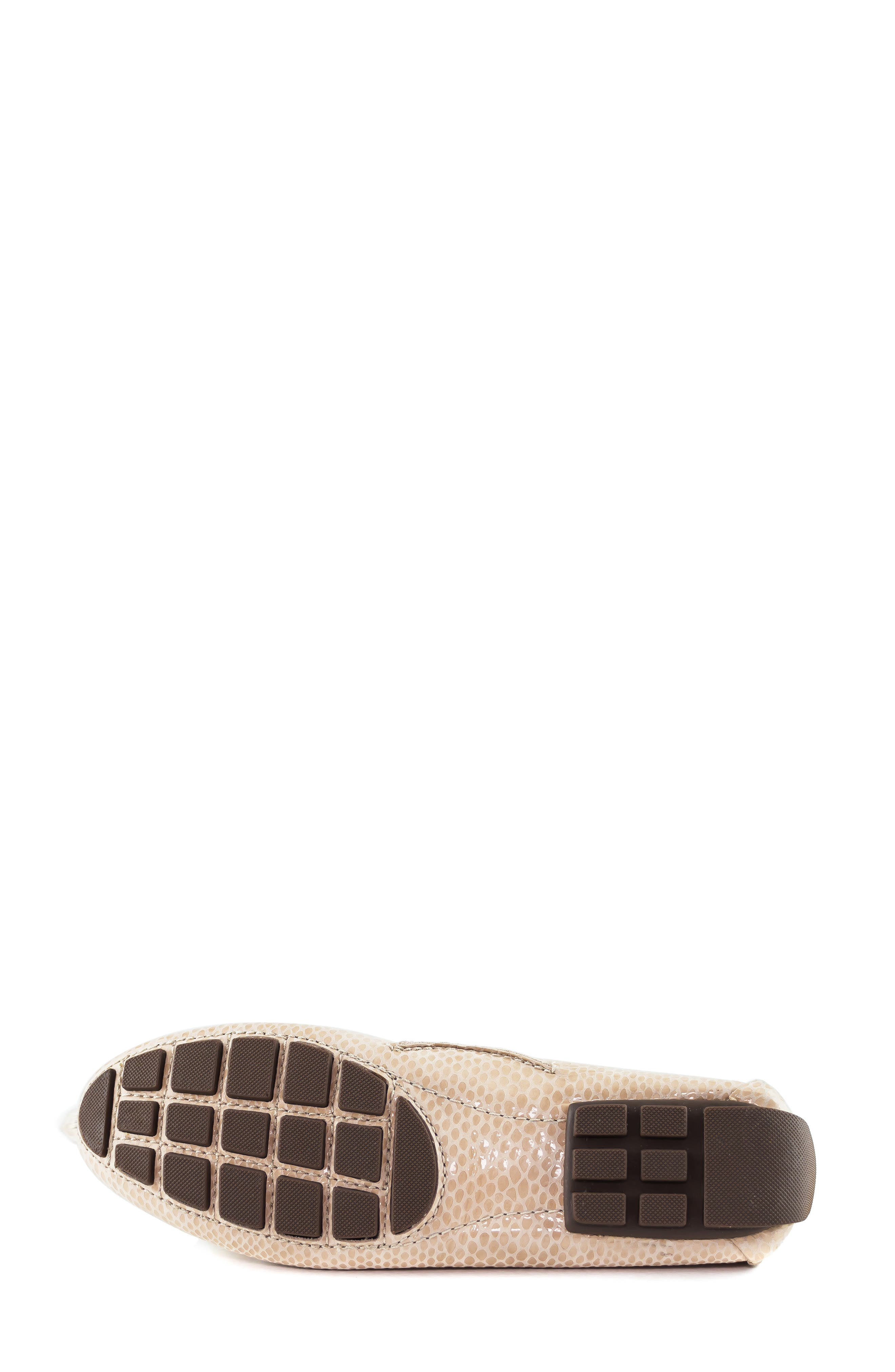 ,                             'Cypress Hill' Loafer,                             Alternate thumbnail 6, color,                             BLUSH SNAKE PRINT LEATHER