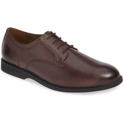 Hush Puppies Shepsky Plain Toe Derby, Brown