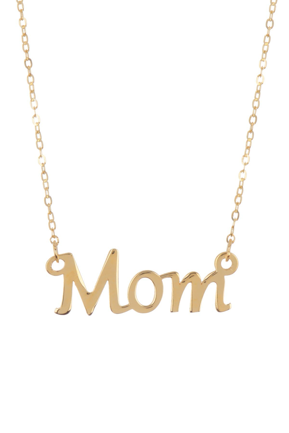 "Image of KARAT RUSH 14K Yellow Gold Shiny Fancy 17"" Necklace"