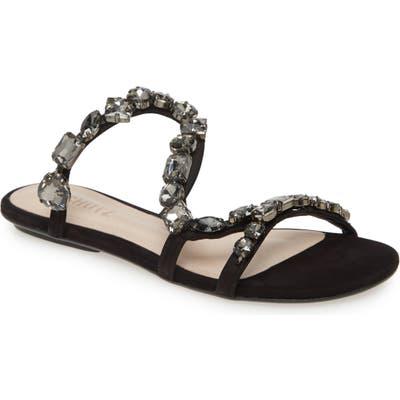 Schutz Potira Slide Sandal, Black