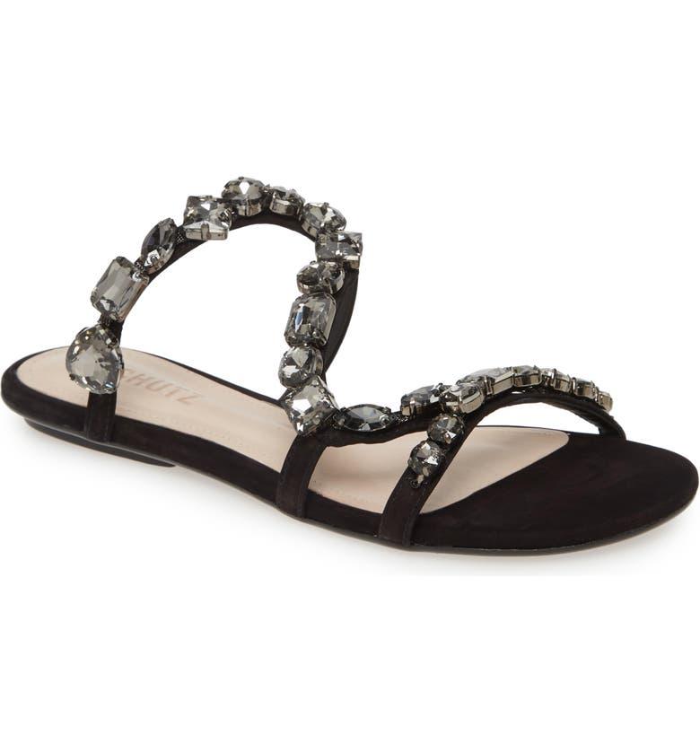 SCHUTZ Potira Slide Sandal, Main, color, 014