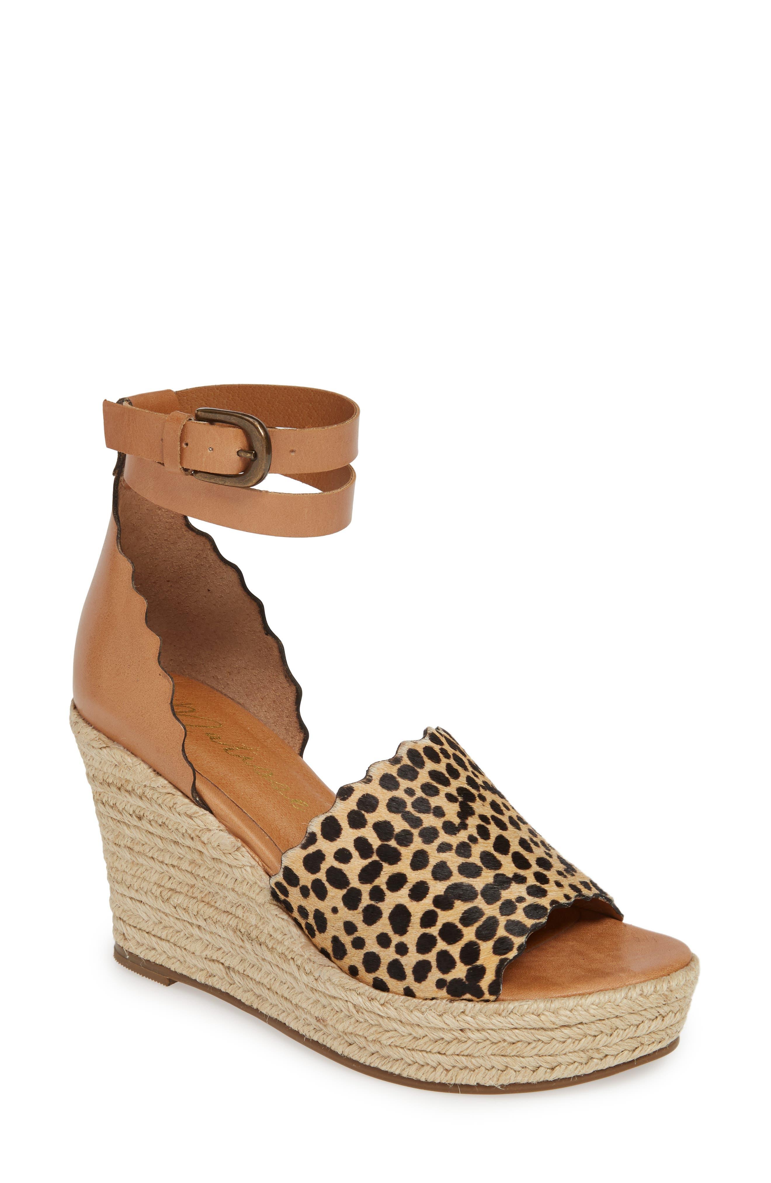 Matisse Roma Espadrille Wedge Sandal, Brown