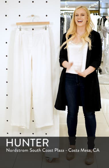 Pleated Wide Leg Trousers, sales video thumbnail