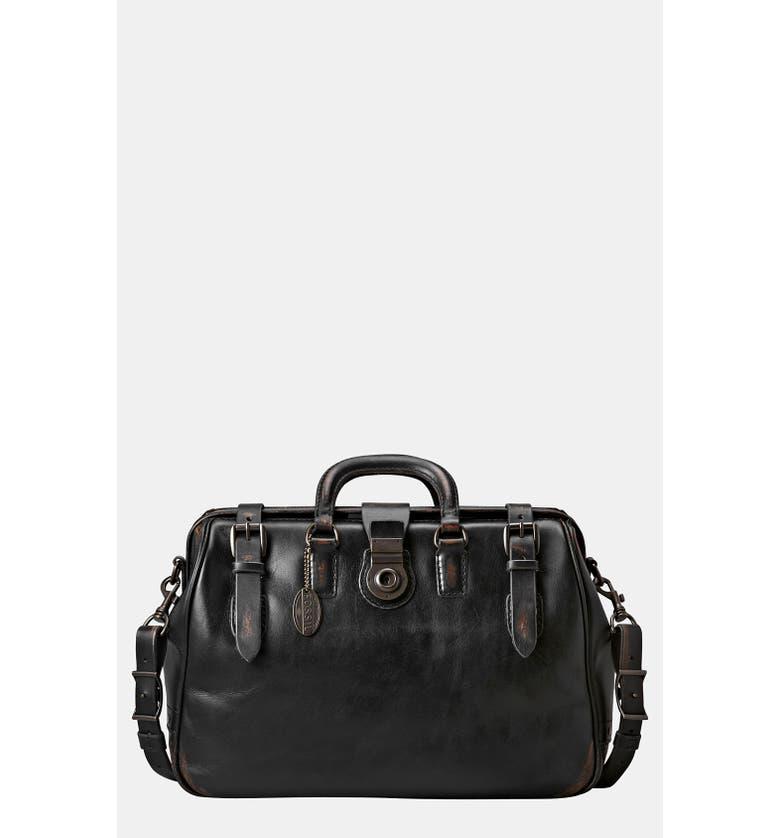 FOSSIL 'Edition' Leather Carpenter Bag, Main, color, Black