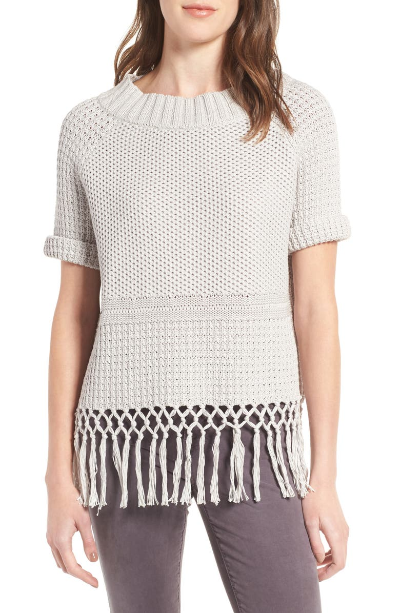 CURRENT/ELLIOTT The Peggy Cotton Sweater, Main, color, 050