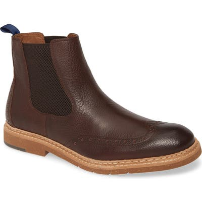 J & m 1850 Pearce Chelsea Boot, Brown
