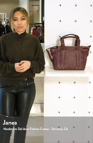 Kwaye Faux Leather Satchel, sales video thumbnail