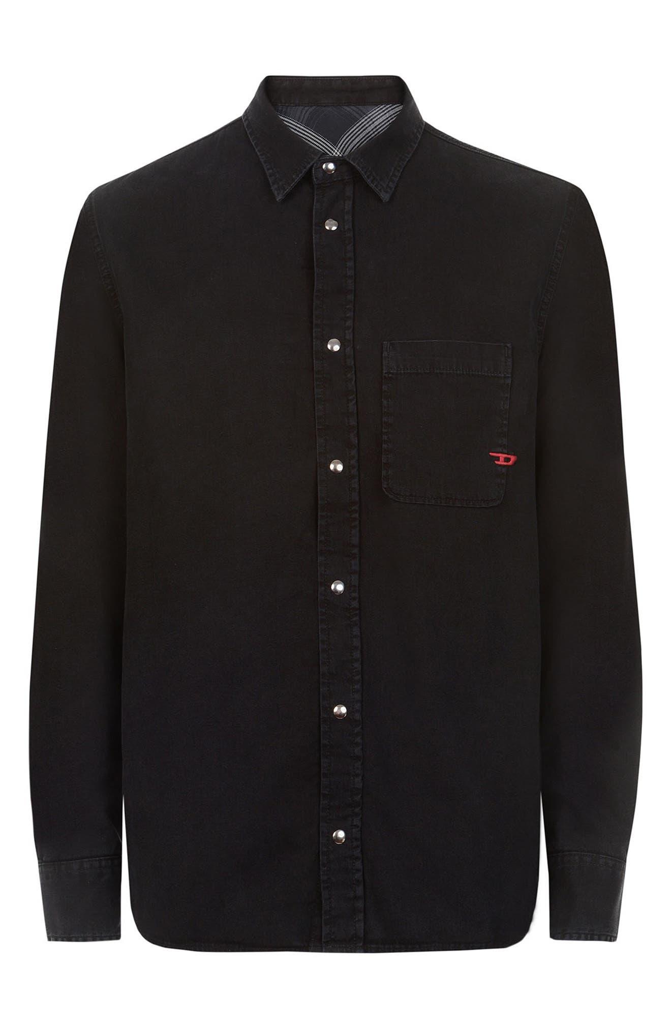 Men's Diesel D-Wear B1 Reversible Shirt