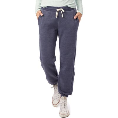 Alternative Classic Eco-Fleece Sweatpants, Blue