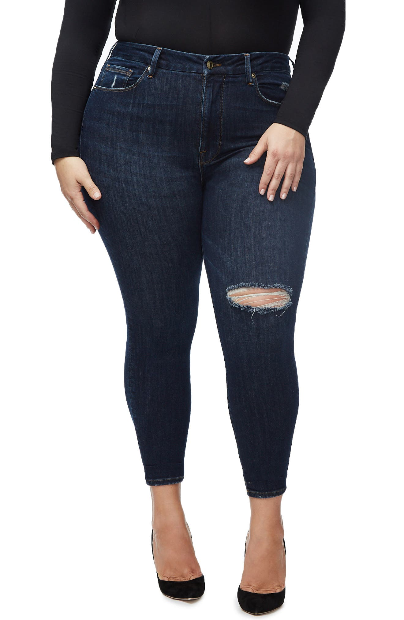 ,                             Good Legs Ankle Skinny Jeans,                             Alternate thumbnail 35, color,                             406