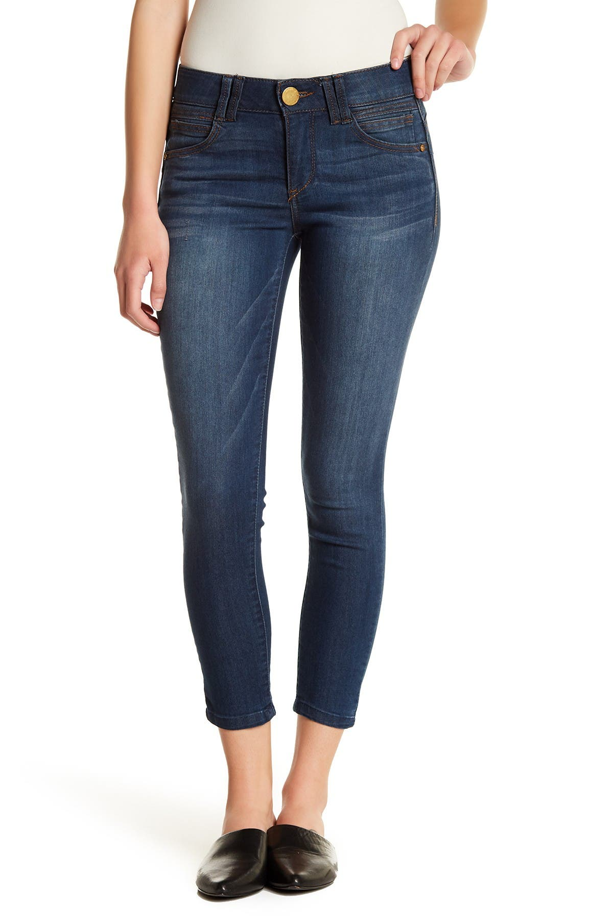 Image of Democracy Tummy Control Ankle Jeans