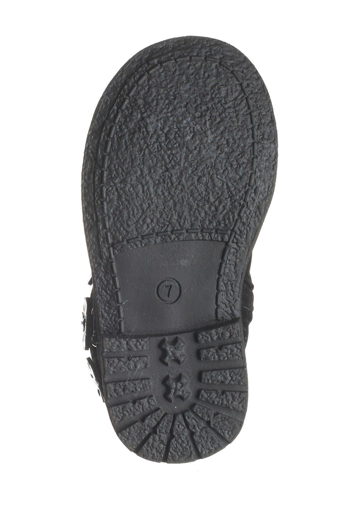 Rachel Shoes Flower Knit Cuff Boot