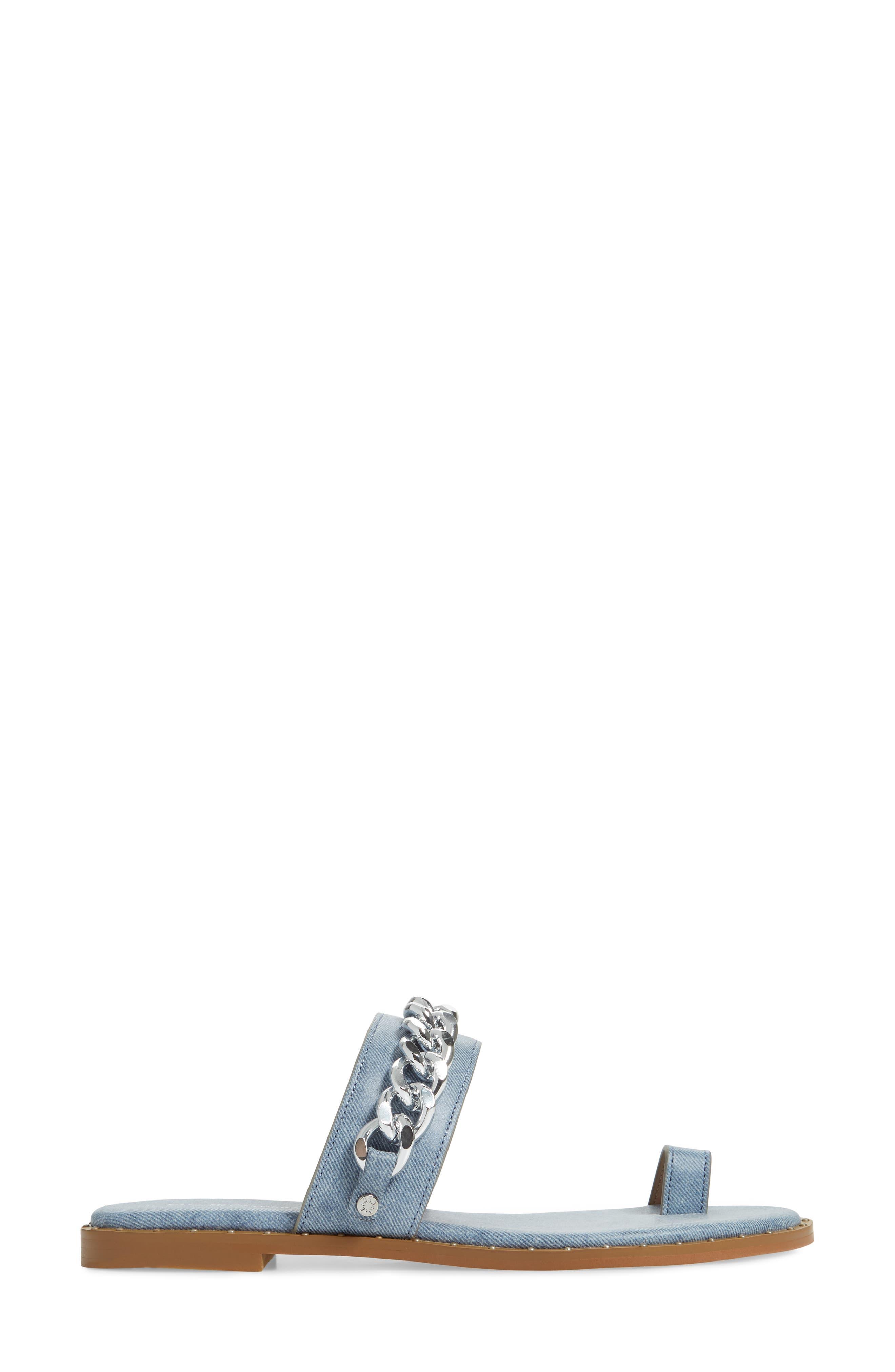 ,                             Zola Chain Slide Sandal,                             Alternate thumbnail 15, color,                             400