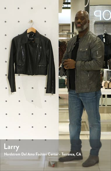 Inside Job Faux Leather Jacket, sales video thumbnail