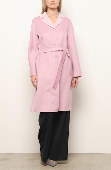 Aretusa Belted Wool Blend Coat, video thumbnail