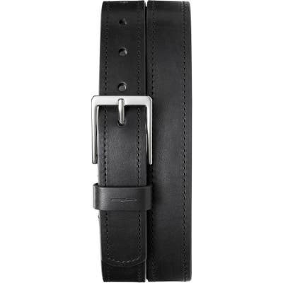 Shinola Leather Belt, Black