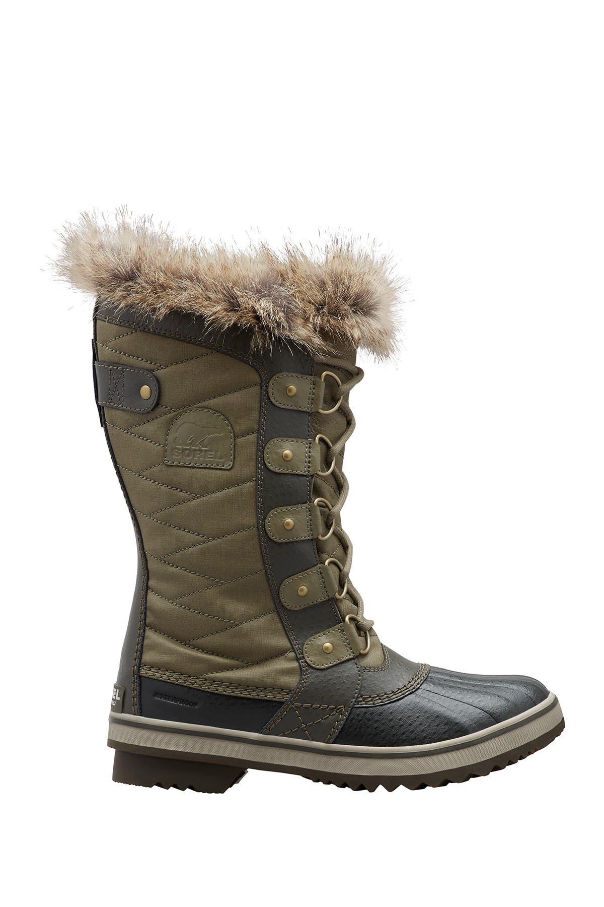 Image of Sorel Tofino II Faux Fur Trim Waterproof Boot