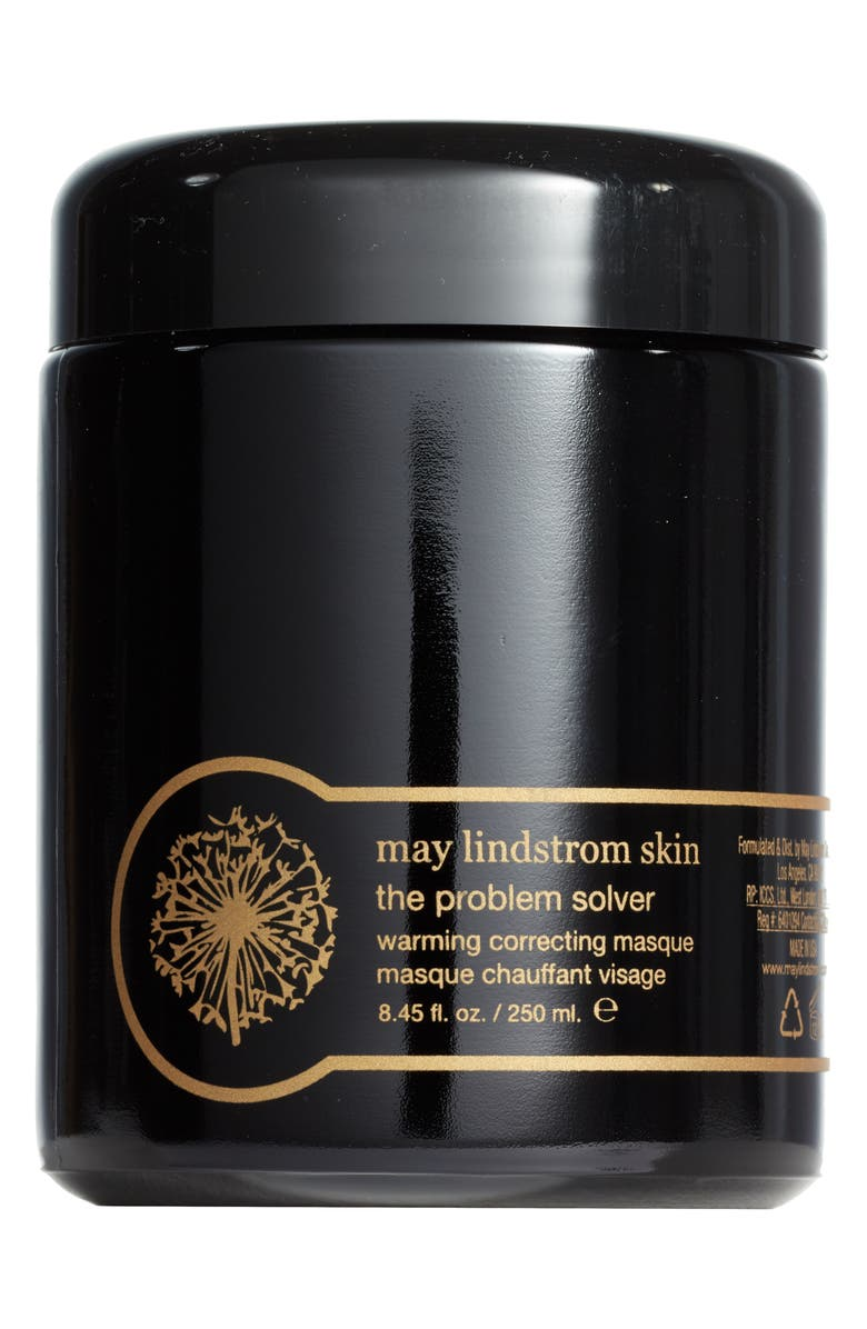 MAY LINDSTROM SKIN May Lindstrom The Problem Solver Warming Correcting Mask, Main, color, BLACK