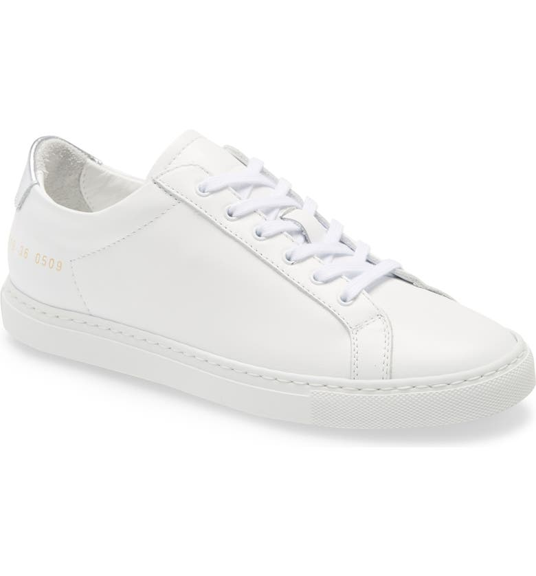 COMMON PROJECTS Retro Low Top Sneaker, Main, color, 102