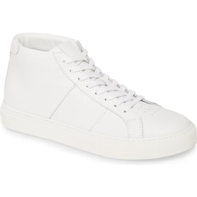 Greats Royale High Top Sneaker- White