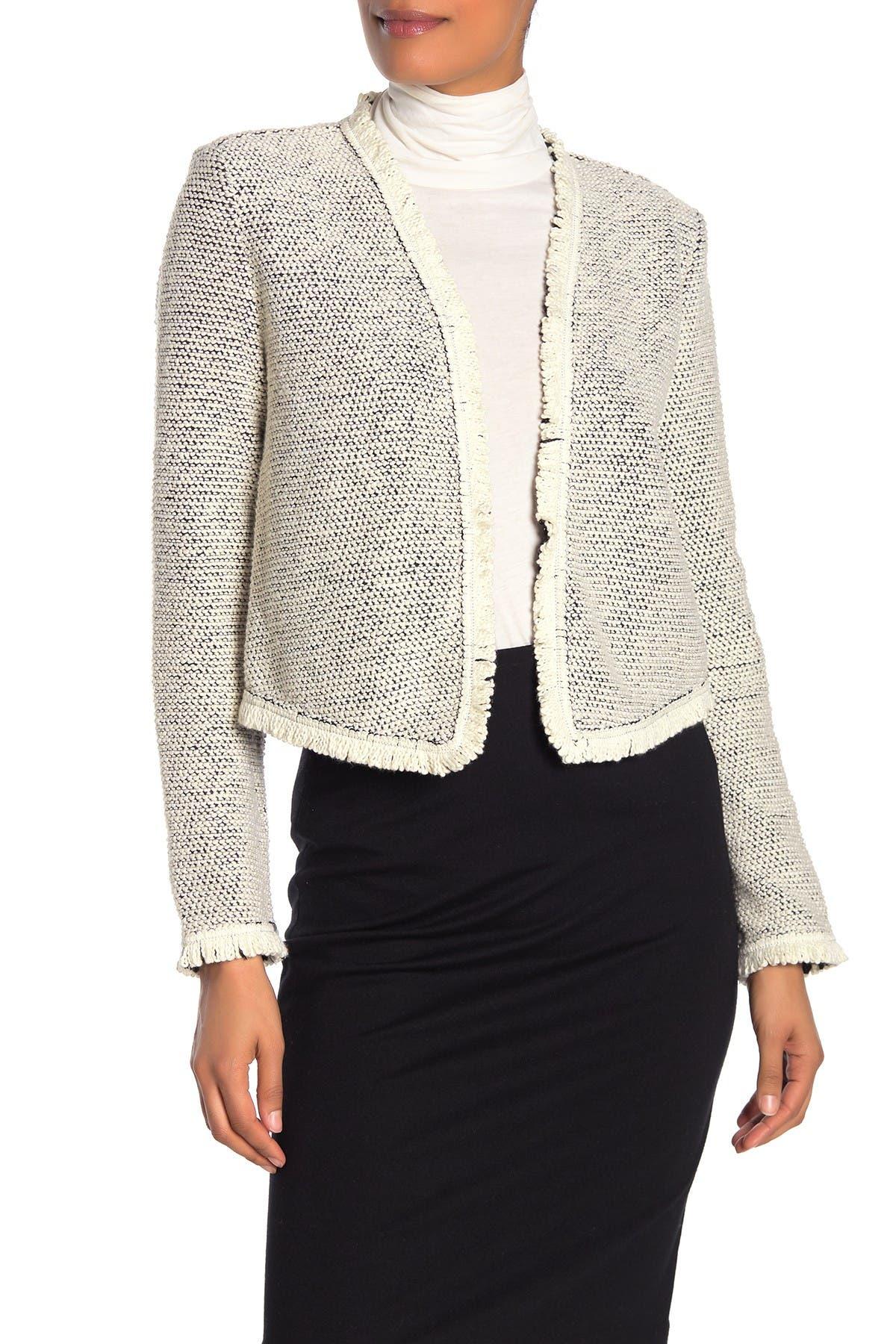 Image of Bagatelle Stretch Tweed Blazer