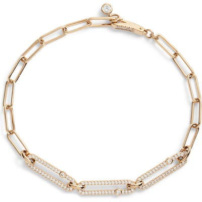 Nadri Cubic Zirconia Links Bracelet