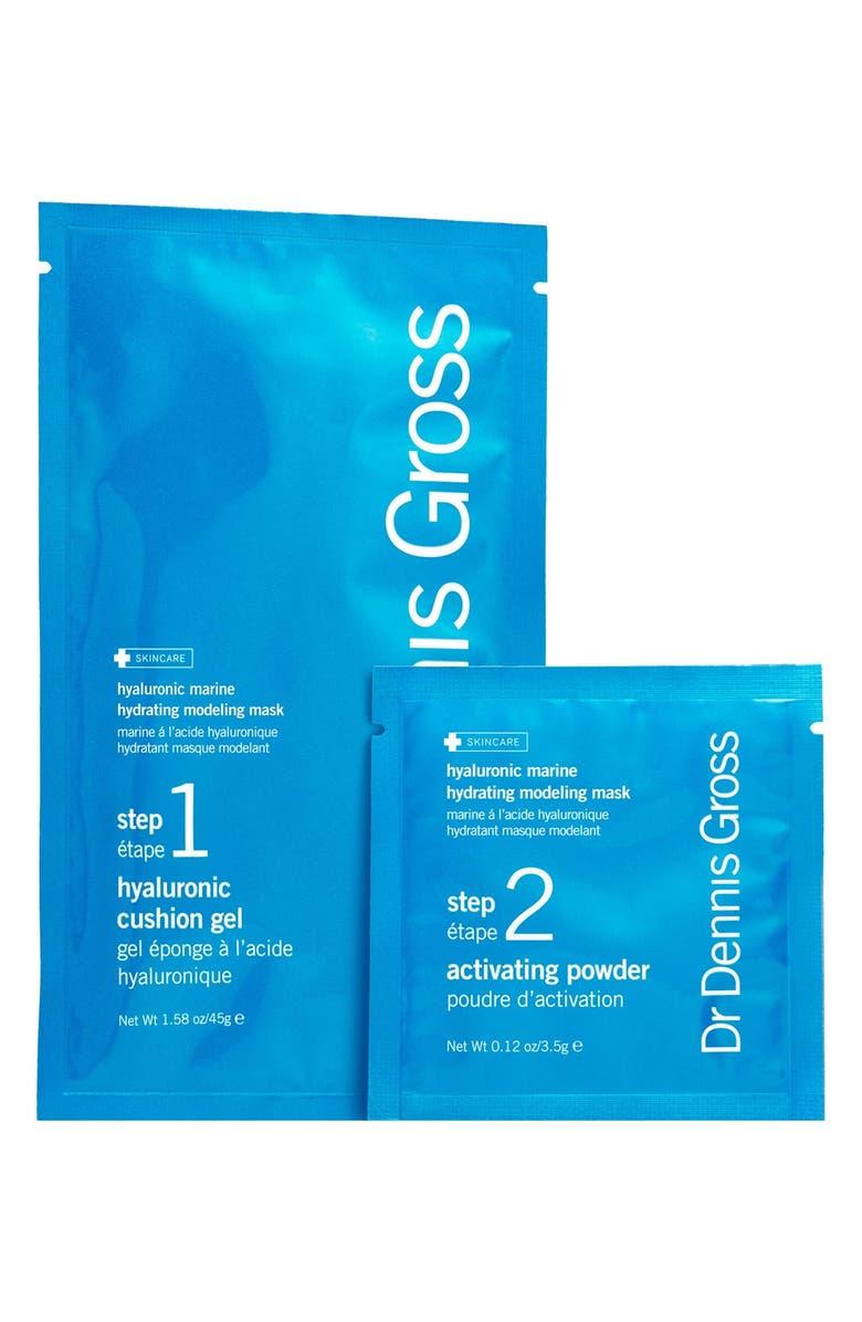 DR. DENNIS GROSS Skincare Hyaluronic Marine Hydrating Modeling Mask System, Main, color, NO COLOR