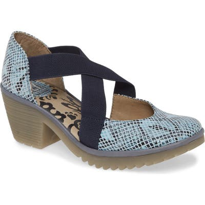 Fly London Wodi Pump-7- Blue
