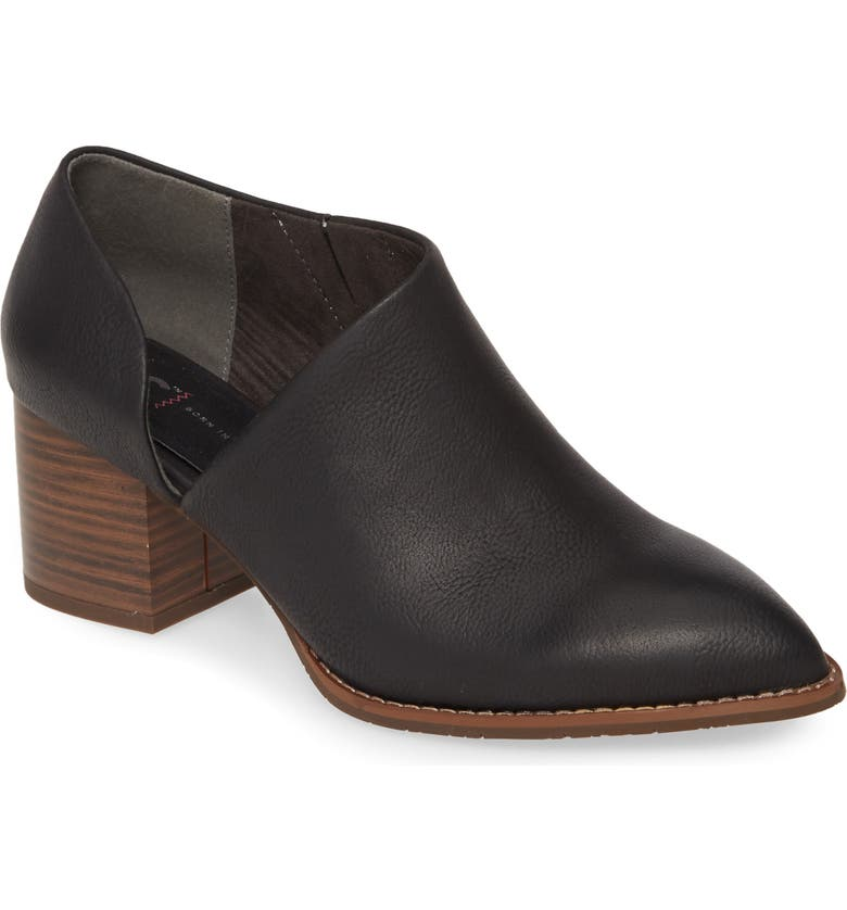 BC FOOTWEAR Make a Difference Vegan Ankle Boot, Main, color, BLACK FAUX LEATHER