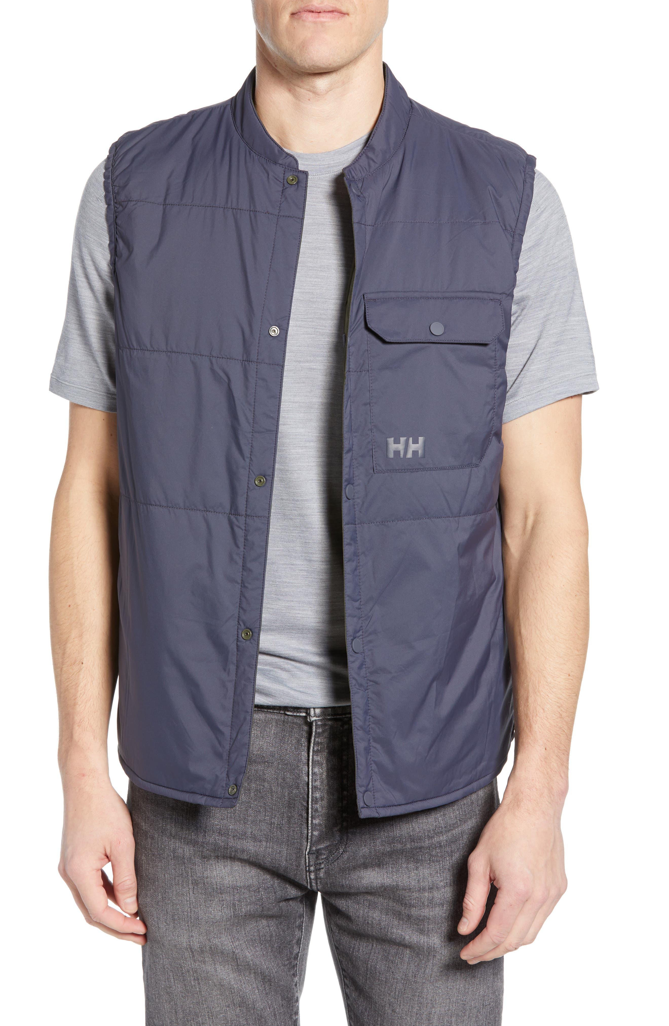 Helly Hansen Shibuya Reversible Primaloft Vest, Blue