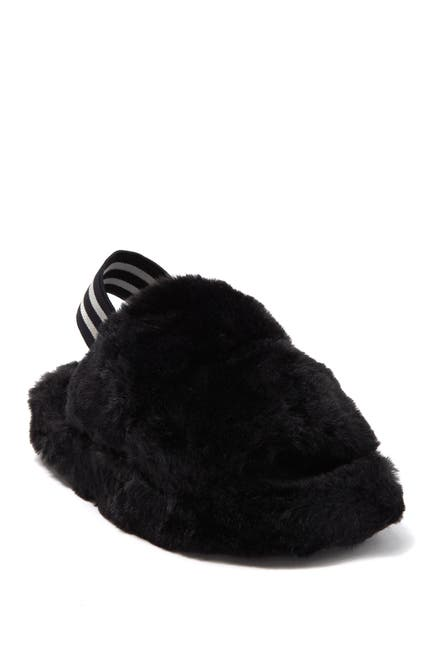 Image of Steve Madden Cloud Faux Fur Slipper
