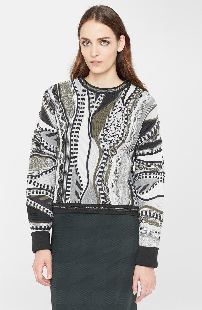 RAG & BONE x Coogi Crop Sweater, Main, color, 333